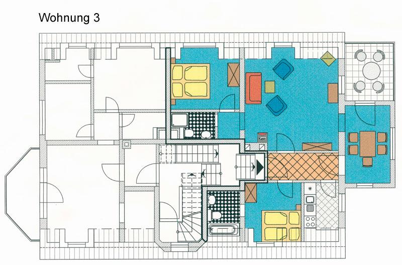 Wohnung 3 Drei Mäderl Haus Strandvilla Boltenhagen
